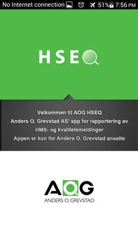 AOG HSEQ poster