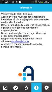 ASB HSEQ apk screenshot