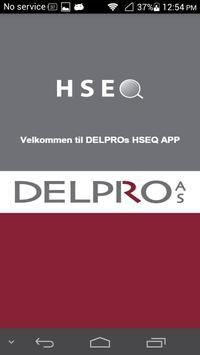 Delpro HSEQ poster