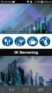 IK Servering poster