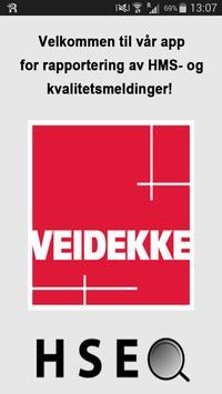 Veidekke HSEQ poster