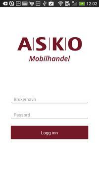 ASKO Mobilhandel poster
