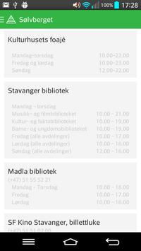 Sølvberget Stavanger bibliotek apk screenshot