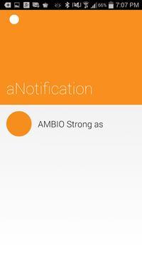 aNotification apk screenshot