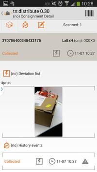 tn:distribute apk screenshot