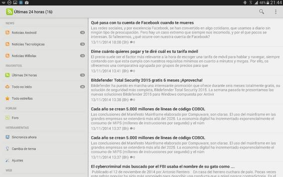 Feed Seguridadwireless apk screenshot