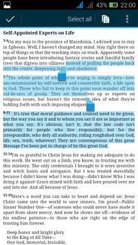 The Amplified Study Bible apk screenshot