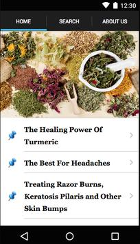 Natural Health Remedies poster
