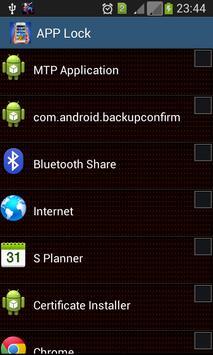 App Lock Lite apk screenshot