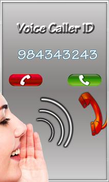Voice Caller ID poster