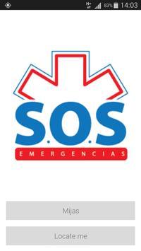 S.O.S. Emergencias poster