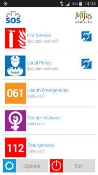 S.O.S. Emergencias apk screenshot