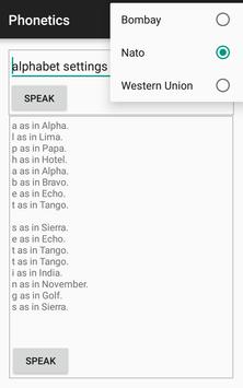 Phonetics apk screenshot
