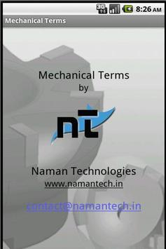Mechanical Terms apk screenshot