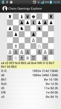 Chess Openings Explorer apk screenshot