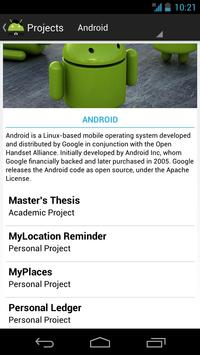 Supreeth Resume apk screenshot