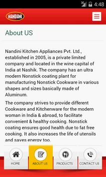 Nandini Kitchen apk screenshot