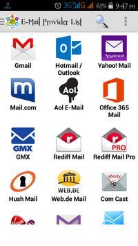 All Email Providers poster
