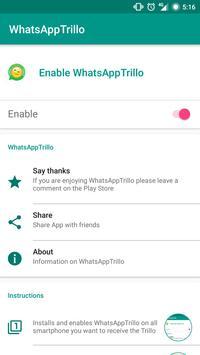 Trillo whatsapp apk screenshot