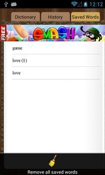 English Tagalog Dictionary apk screenshot