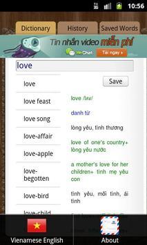 English Vietnamese Dictionary poster