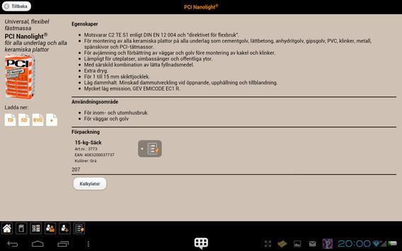 PCI NE apk screenshot