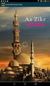 Quran Mp3 Reciter Qiraat poster