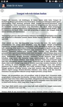 Kitab Sirr Al Asror apk screenshot