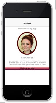 Lea Chartier CV apk screenshot