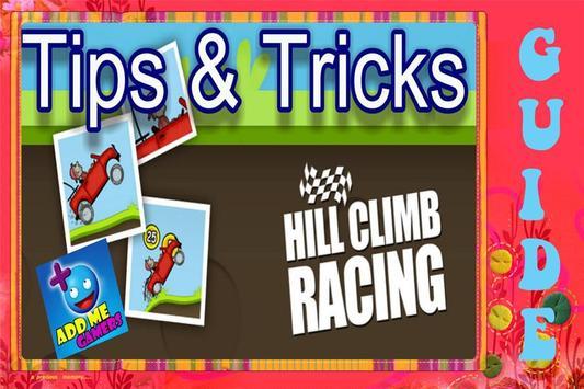 Unique Guide Hill Climb Racing poster
