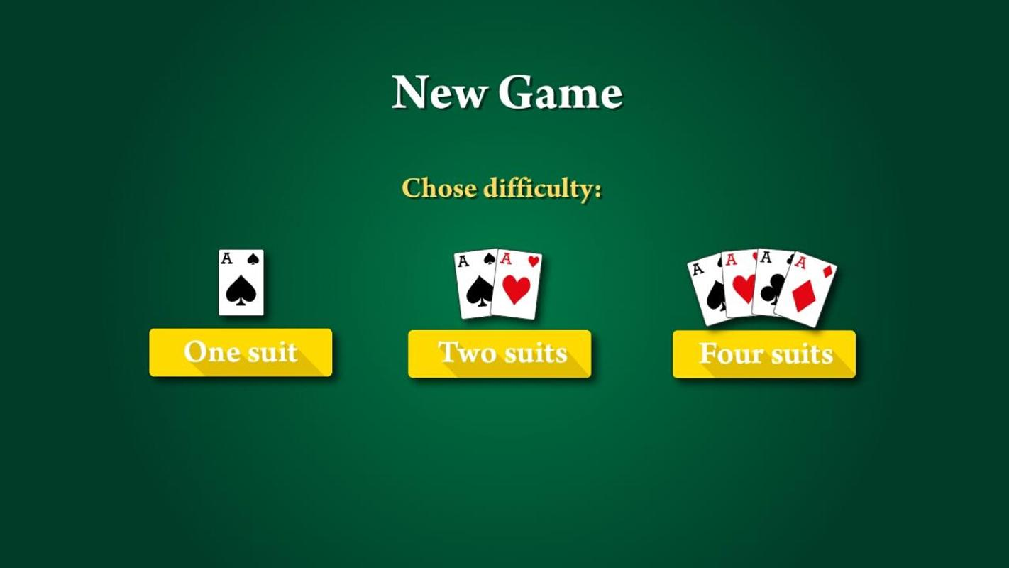 four suit spider solitaire