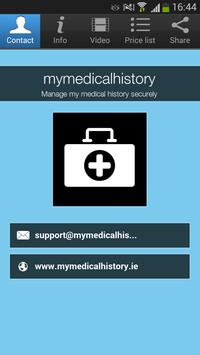 mymedicalhistory poster