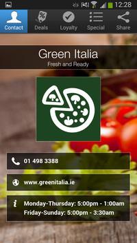 Green Italia poster