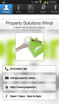 Property Solutions Wirral poster