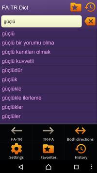 Persian (Farsi) Turkish dictio apk screenshot