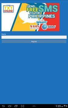 MagTXTOnline Free TEXT to PH apk screenshot