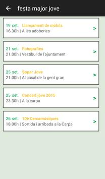 Festa Major Calldetenes 2015 apk screenshot