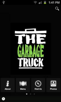 Garbage Truck Food Truck poster
