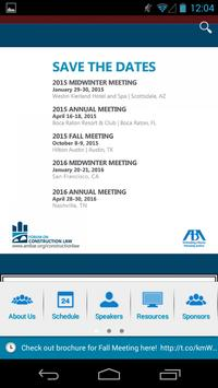 ABA Forum on Construction Law apk screenshot