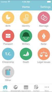 Mobil Konsolosluk apk screenshot