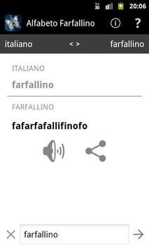 Alfabeto Farfallino poster