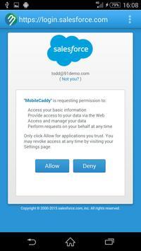 BizCaddy apk screenshot