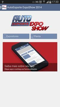 AutoEsporte ExpoShow 2014 poster