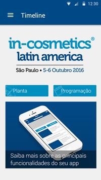 in-cosmetics Latin America poster
