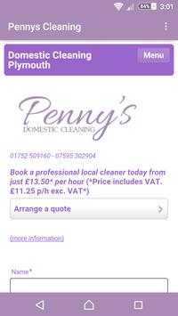 Penny's Cleaning apk screenshot