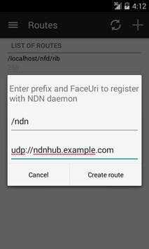 NDN Forwarding Daemon (NFD) apk screenshot