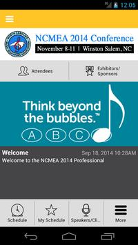 NCMEA Conference 2014 poster