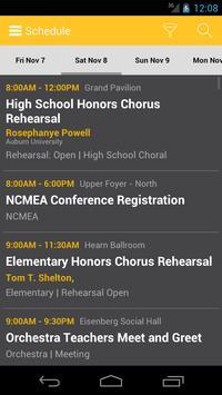 NCMEA Conference 2014 apk screenshot