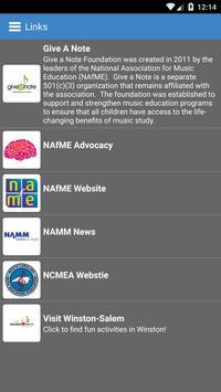 NCMEA Conference 2015 apk screenshot