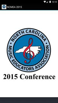 NCMEA Conference 2015 poster